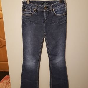 5 items / $10 Silver Aiko Jeans